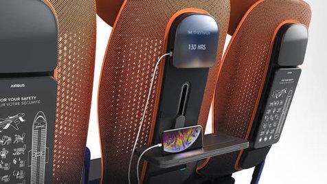 دمای صندلی هواپیمایتان را تنظیم کنید