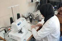 گروههای مردمی ۱۱۳هزار ماسک در فنی و حرفه ای بوشهر تولید کردند