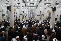 آیین گرامیداشت مقام شهدای عربستانی در قم برگزار شد