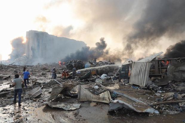 واکنش مقامات ایرانی به انفجار در بیروت