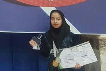 ورزشکار خمینی قهرمان مسابقات تنیس جوانان شد