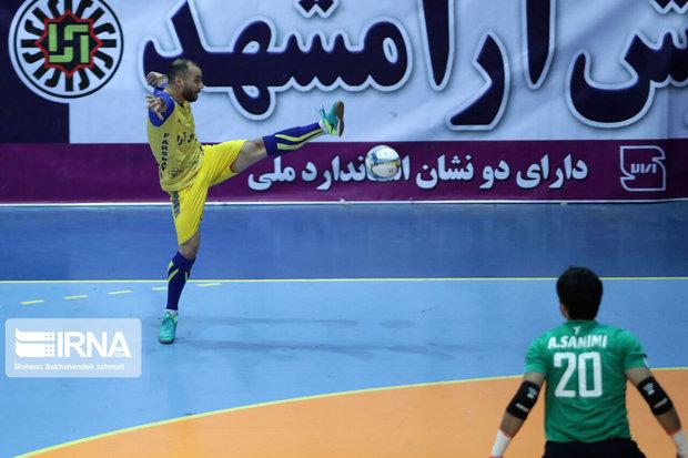 تیم فوتسال حفاری اهواز تیم فرش آرای مشهد را شکست داد