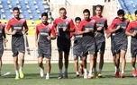 فوتبال درون تیمی و تمرین اختصاصی 4 پرسپولیس