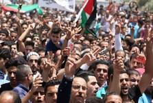 تظاهرات بزرگ مردم اردن در حمایت از قدس