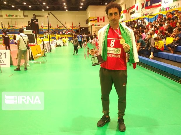 سرمربی شیرازی تیم ملی سپک تاکرا : با اقتدار قهرمان جهان شدیم