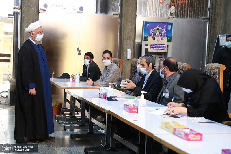 حضور رئیس جمهور در انتخابات 1400