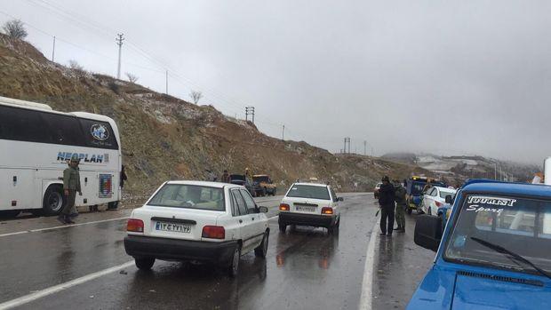 استقرار پلیس در مبادی ورودی و خروجی ساری