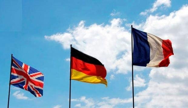 توافق تروئیکای اروپایی بر سر رد فعالیت مکانیسم ماشه از سوی آمریکا