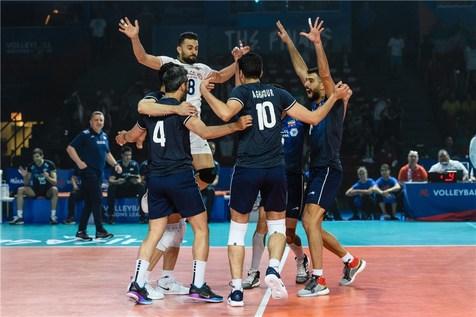 پنجمی تیم ملی والیبال ایران در لیگ ملت های 2019