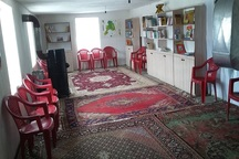 کتابخانه روستایی «قاجر» در بوکان افتتاح شد