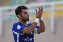 اسماعیل شریفات در 2 بازی آینده تیمش غایب است