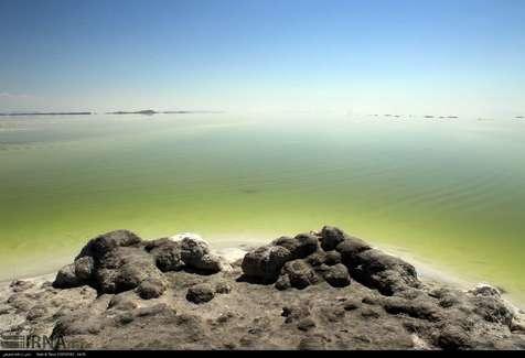 افزایش ۴۵ سانتی متری دریاچه ارومیه