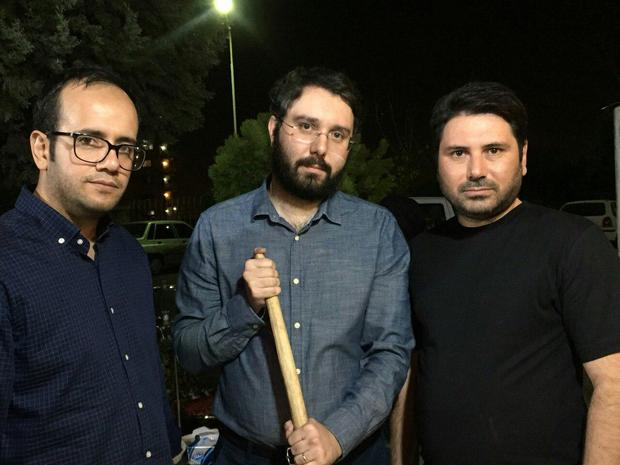 فرزند سید محمد خاتمی در تهران + عکس
