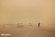 محور شاهرود – طرود- معلمان به دلیل طوفان شن مسدود شد