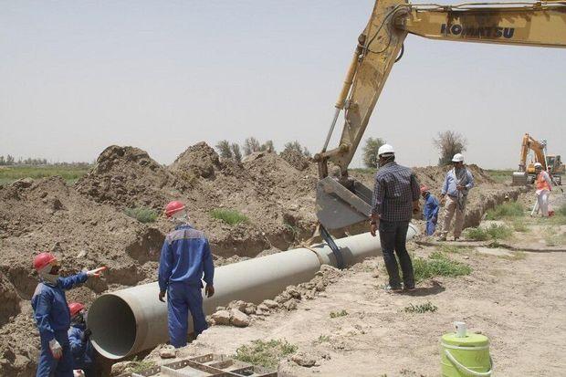 عملیات خط انتقال آب شرب روستای پالتلوی زنجان متوقف شده است