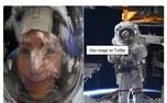 فضانورد ناسا در ایستگاه فضایی سلفی گرفت/ عکس