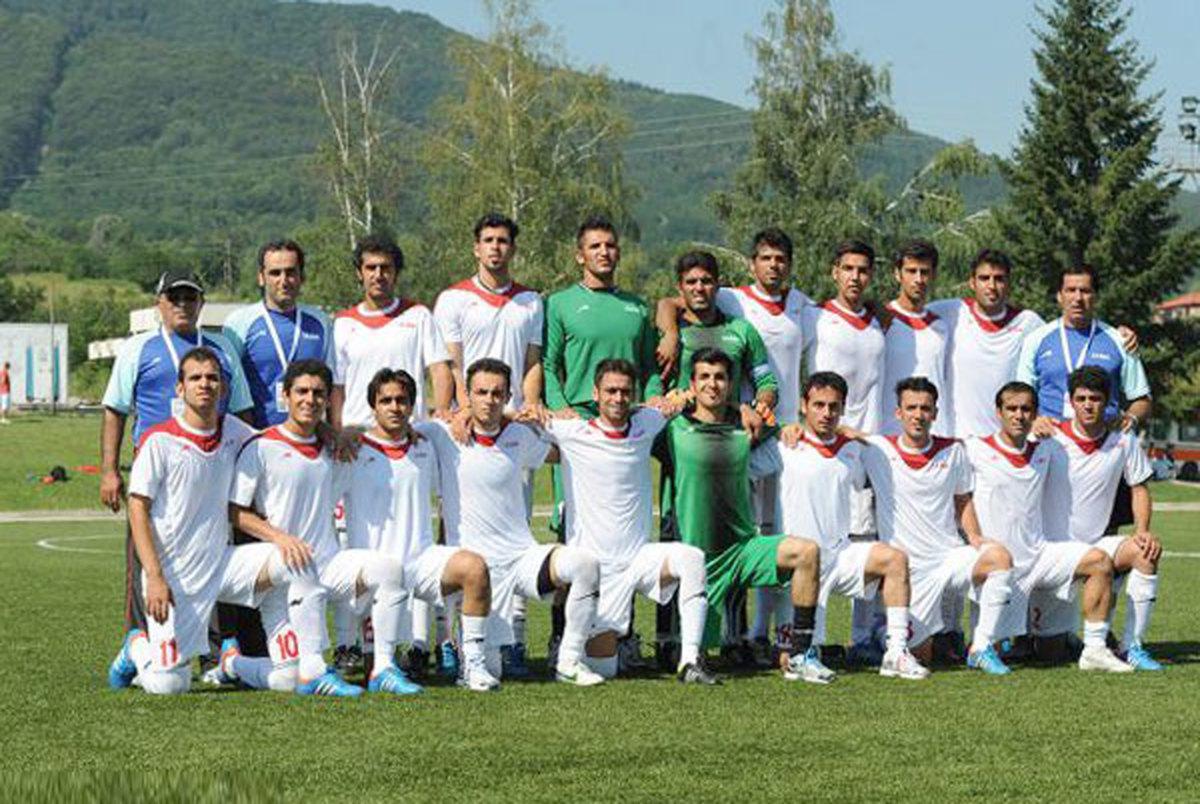 صعود تیم ملی فوتبال ناشنوایان ایران به فینال
