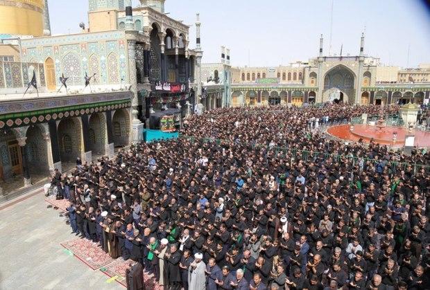 2300 تن برای اقامه نماز تاسوعا و عاشورا مشارکت دارند