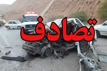 واژگونی خودرو در عباس آباد و جویبار حادثه آفرید