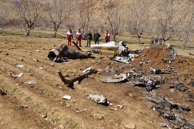 وزیر بهداشت سانحه سقوط بالگرد اورژانس را تسلیت گفت