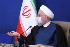 روحانی: پشت پرده حوادث اخیر خوزستان، دست های آلوده دشمن و تحریکات برخی جریان های داخلی قرار دارد/ دولت بخاطر سوء استفاده دشمن نمی تواند حق اعتراض مردم را به رسمیت نشناسد/ تا رفع کامل مشکلات استان خوزستان همه مدیران ذیربط همچنان پای کار باشند