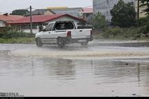 باران باعث آبگرفتگی معابر آستارا شد