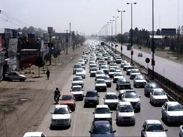 تردد جادهای در خراسانرضوی افزایش یافت