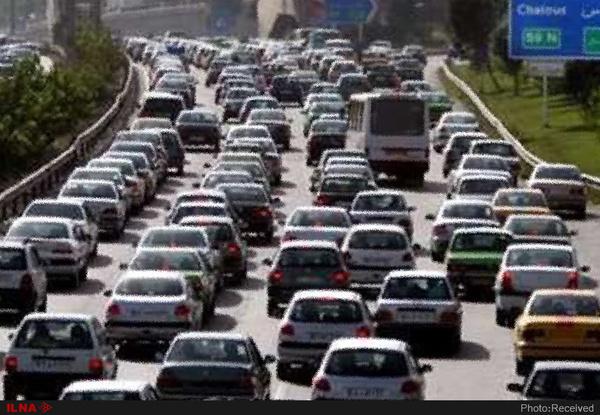تردد بیش از ۵ میلیون خودرو در جادههای مازندران
