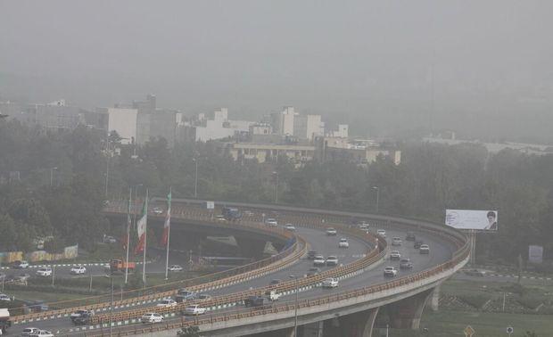 هوای مشهد آلوده است