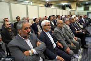 دیدار مسئولان نظام و سفرای کشورهای اسلامی با رهبر معظم انقلاب