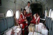 دومین محموله هوایی کمک های مردم البرز وارد اهواز شد