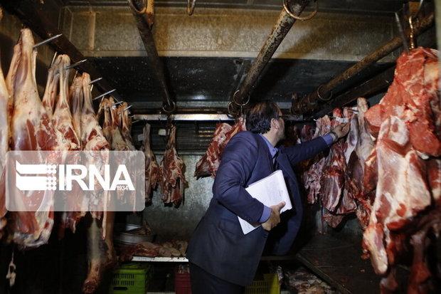 ۱۱۴ کیلوگرم گوشت غیربهداشتی در استان مرکزی معدوم شد