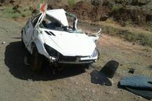 واژگونی 206 یک کشته و یک مجروح برجا گذاشت