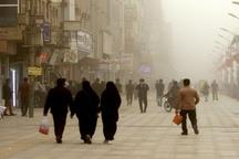برخی نقاط خوزستان غبارآلود می شود
