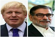 وزیر خارجه انگلیس به دیدار شمخانی میرود