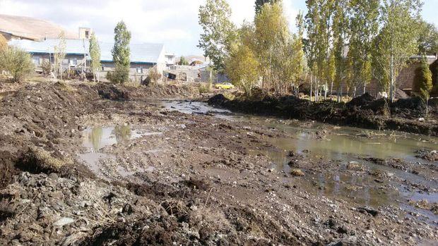 رودخانههای پرخطر خلخال لایروبی شد