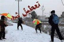 مدارس ابتدایی استان قزوین فردا تعطیل است