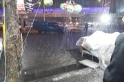 بارش تگرگ در خوزستان پیش بینی می شود