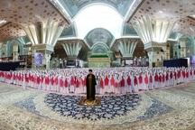 جشن تکلیف 3 هزار دانش آموز در حرم مطهر امام خمینی(س)