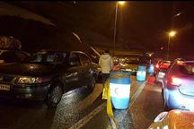 ترافیک سنگین جاده هراز را بست