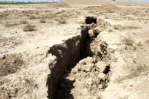 تدوین طرح آینده نگری فرونشست زمین در استان مرکزی ضروری است