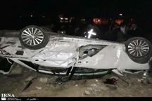 سقوط خودرو از پل کاکارضا یک کشته و 2 زخمی برجا گذاشت