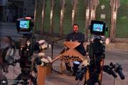 پشت صحنه برنامه«مصباح» در حرم مطهر امام خمینی