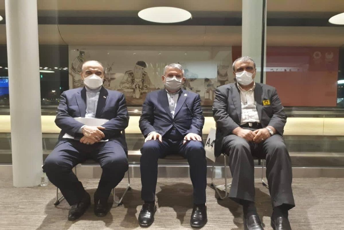 سلطانیفر و صالحی امیری به توکیو رسیدند