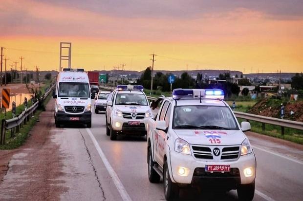 تیم عملیات ویژه اورژانس کشور وارد خوزستان شد