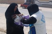 29 هزار کودک خاشی علیه بیماری فلج اطفال واکسینه می شوند