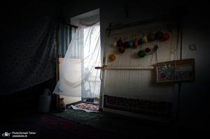 قالیبافی در دهستان افشار شهرستان خدابنده