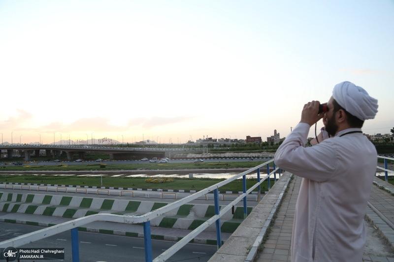 استهلال ماه مبارک رمضان 1400 در قم