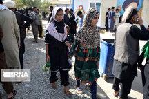 ۸۰ هزار زائر خارجی از مرز شلمچه تردد کردند
