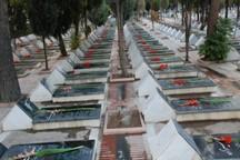 74  درصد مزار شهدای شهرستان آباده مرمت شد